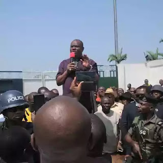 Wike's warning :We Have Maintained Our Calmness For So Long....