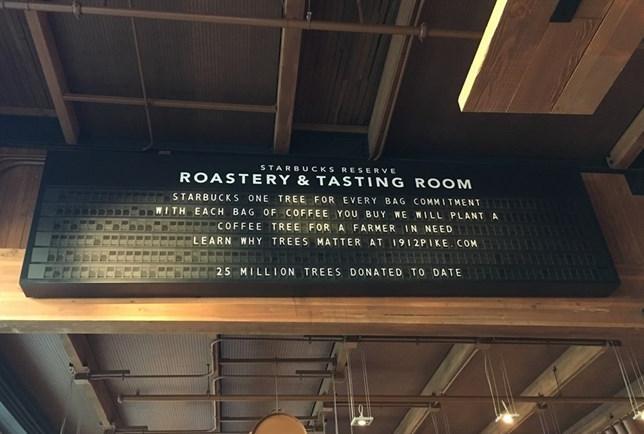 Starbucks Reserve: a super loja gourmet