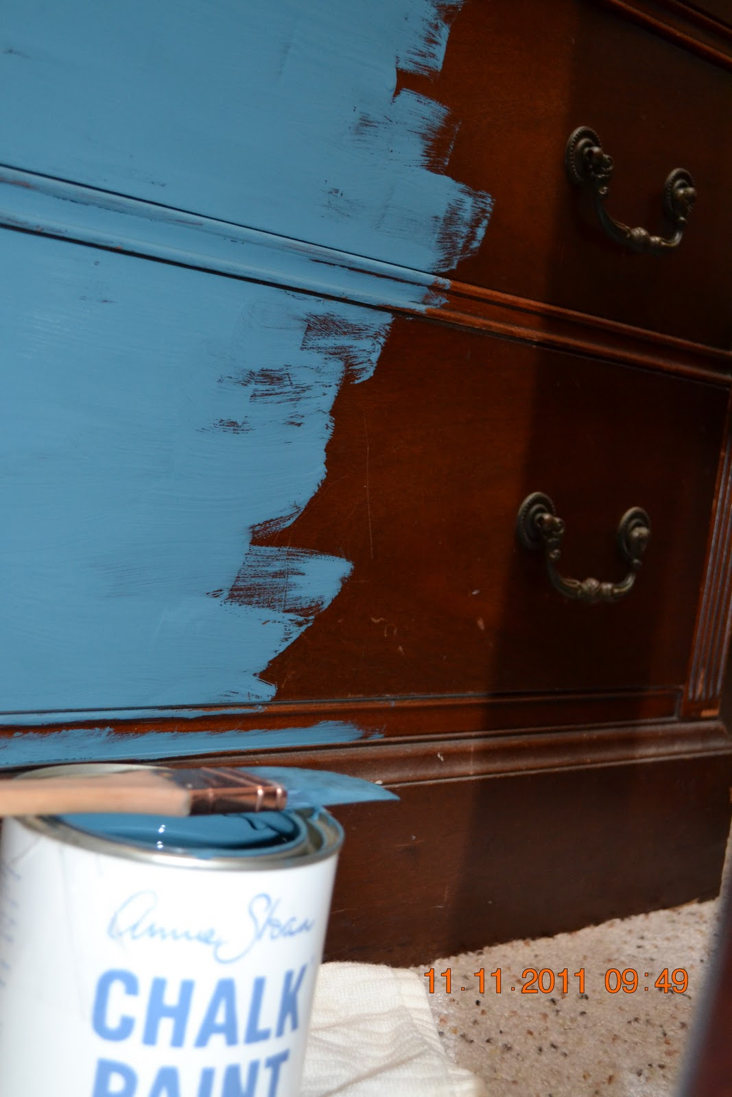 Mermaid S Palette Chalk Paint Makeover Dining Room