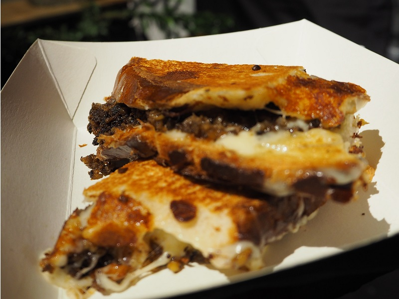 Melt Haggis Cheese Toastie at North Hop