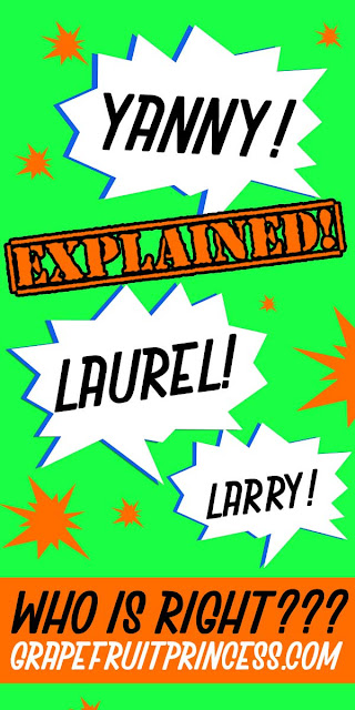 Yanny Laurel explained