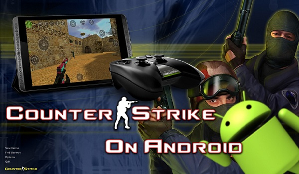 Download Counter Strike 1.6 on Android SmartPhone