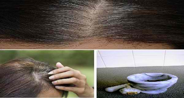5 Minutes to Get Rid of White Hair and Regrow Hair Naturally