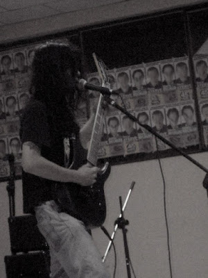 Músico de Metal Colombiano en ecuador