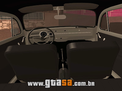 Vw Fusca 1969 + 272 Club para GTA San Andreas
