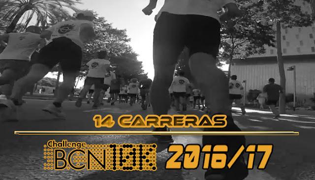 ChallengeBCN10K 2016/17 - 14 carreras
