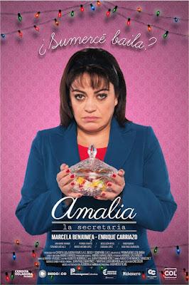Amalia, La Secretaria 2017 Custom HD Latino 5.1