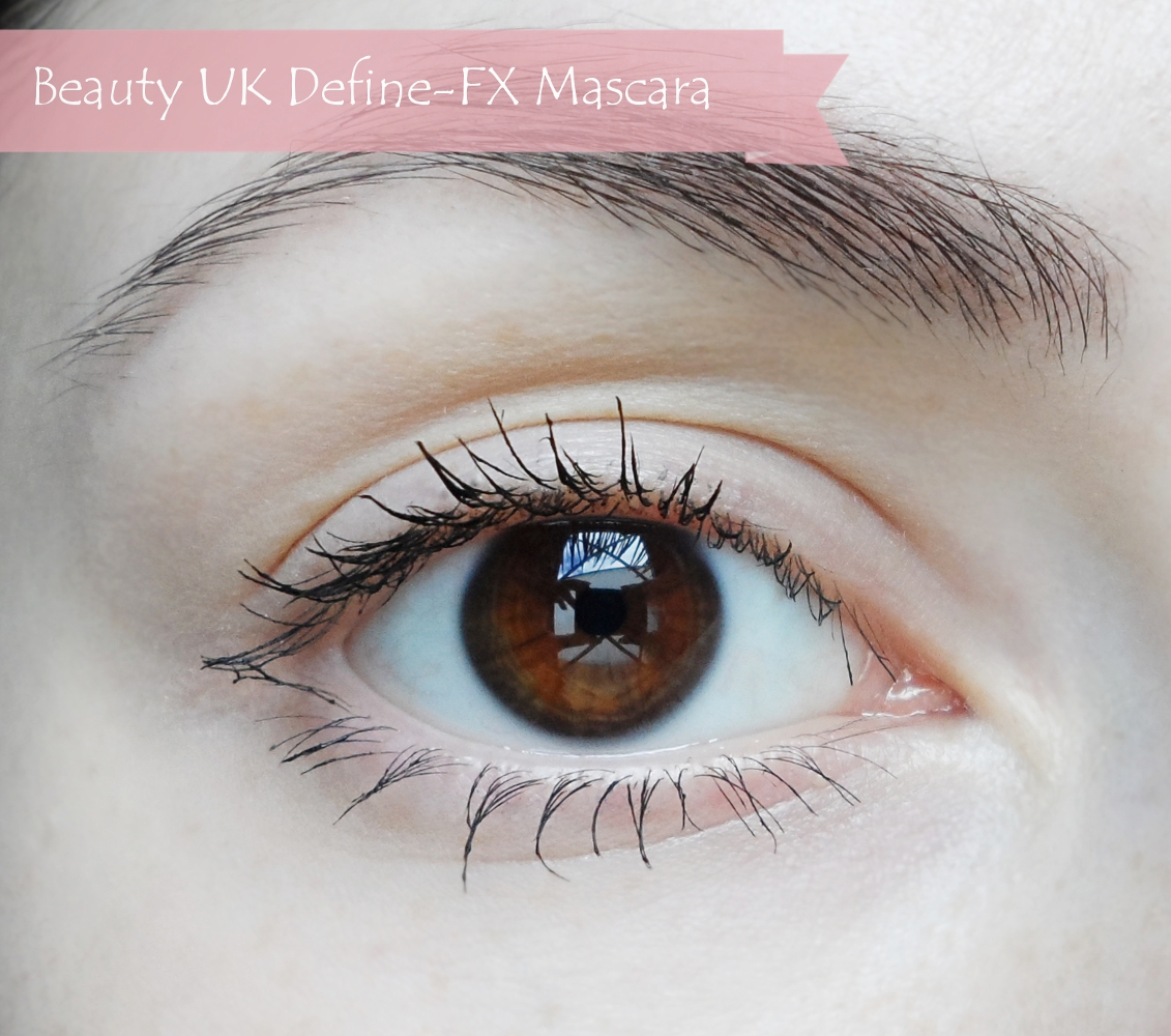 beauty uk mascara review  Beauty UK Define - FX Mascara / Review liz breygel january girl