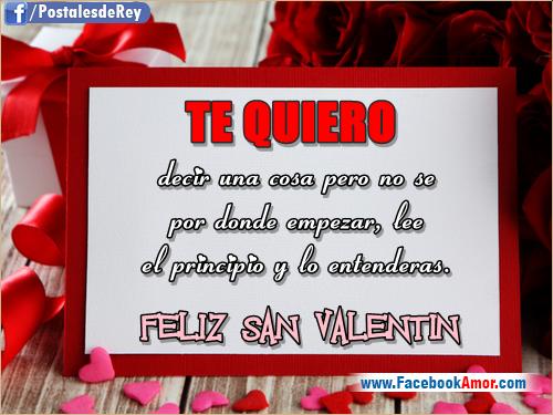 Frases De Amor Cortas Feliz San Valentin 2016 Frases De: Imagenes Con Frases De San Valentin Para Amigos