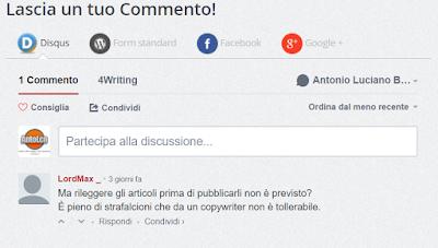 commenti cattivi blogging