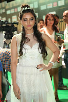 Meghana Gaur in a Deep Neck Sleeveless White Gown at IIFA Utsavam Awards 018.JPG