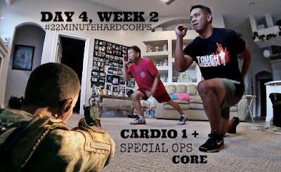 22 Minute Hard Corps Cardio 1 + Special Ops Core Workout, Beachbody on Demand, Special Ops Workout,