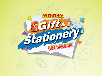 MR DIY Gift & Stationery Hot Bargain Discount Offer Promo