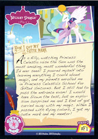My Little Pony Twilight Sparkle [Filly] Series 2 Trading Card