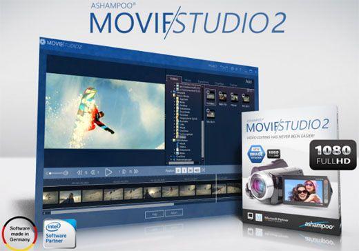 تحميل برنامج تحرير وإنشاء الفيديو Ashampoo Movie Studio 2