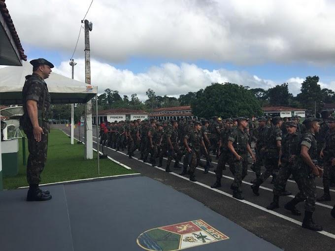 Aconteceu a Formatura de 45 anos do 51º BIS em Altamira.