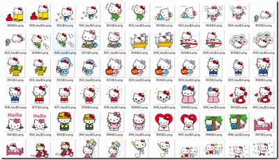 Download รวม LINE Sticker 50 แบบไว้ใช้กับ Whatsapp, WeChat