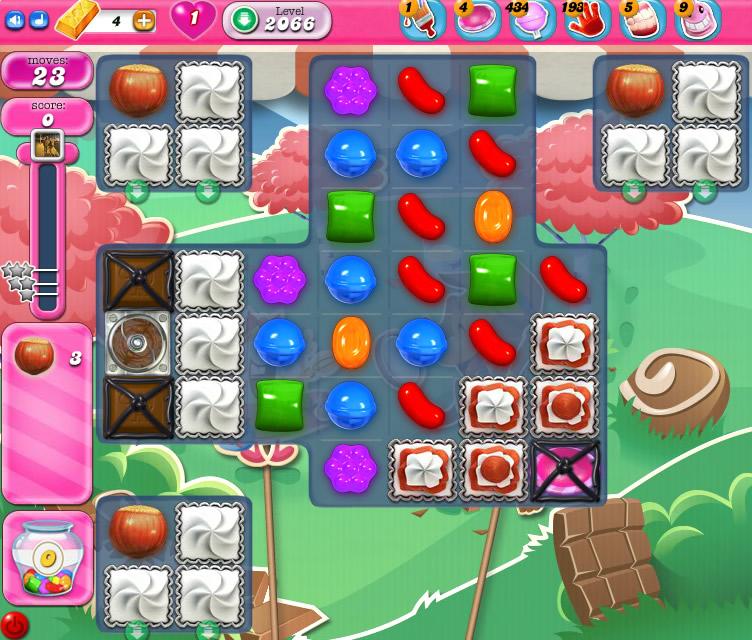 Candy Crush Saga level 2066