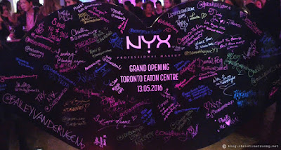 NYX Class of 2016 Toronto Eaton Centre Grand Opening Media Event