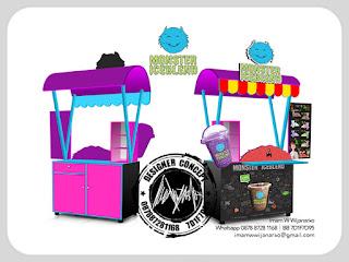 jasa produksi gerobak pop ice bandung