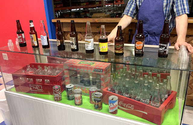 Root Beer Tasting at Blue Sun Soda Shop