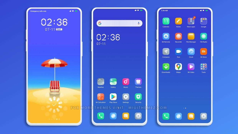 [HERUNTERLADEN] :  RUN MIUI Theme |  Schönes Xiaomi-Thema für einen neuen erfrischenden Look