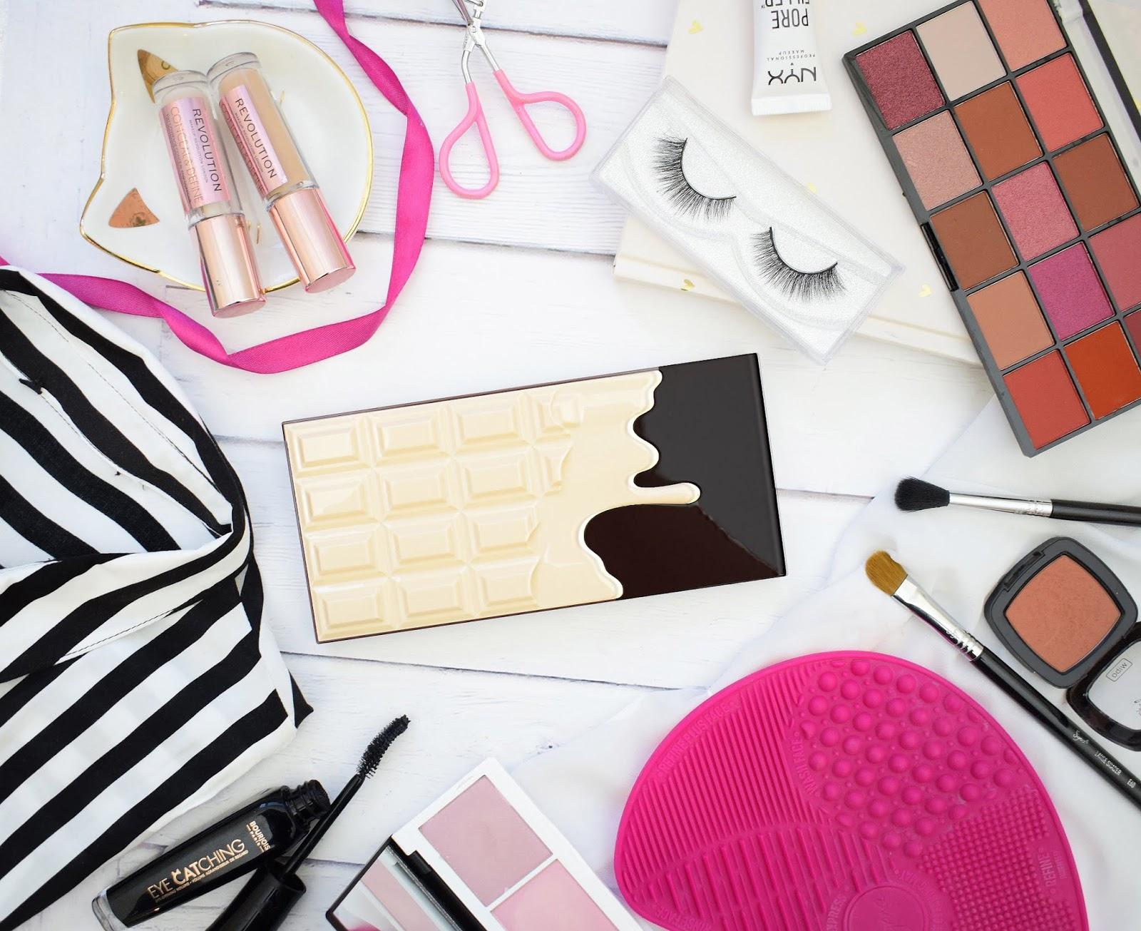 Nowa Czekoladka Z Zupelnie Nowym Wnetrzem I Heart Revolution Nudes Chocolate Palette - Inspirowana ABH Soft Glam ? + Makijaz