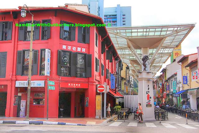 Chinatown Food Street, Chinatown, Singapore