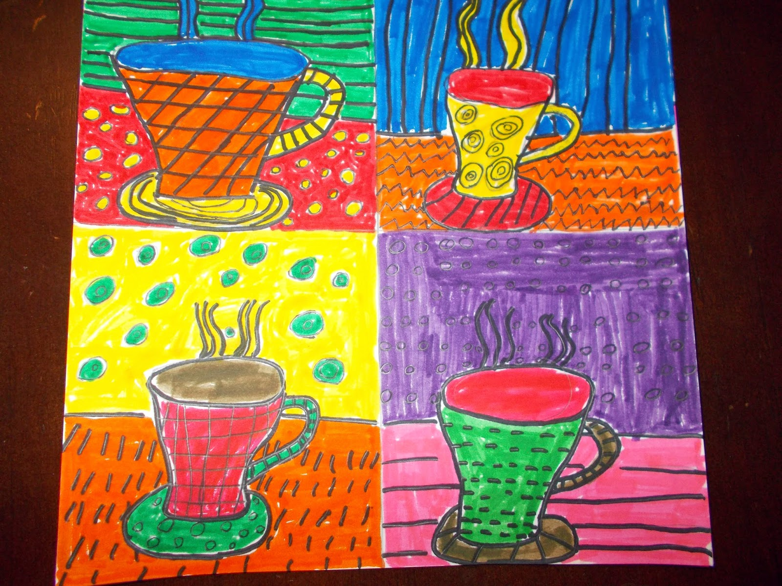 Mrs Pierce S Polka Dot Spot Square 1 Art Projects 1st