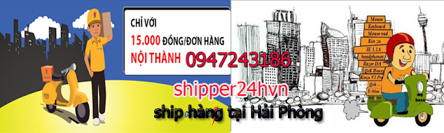 shipper, ship hàng tại Hải Phòng