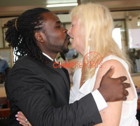 WELCOME TO SHOUTGIST PhotosGuvnor Ace 28 Yr Old Ugandan Singer Who Married 68 Year Old