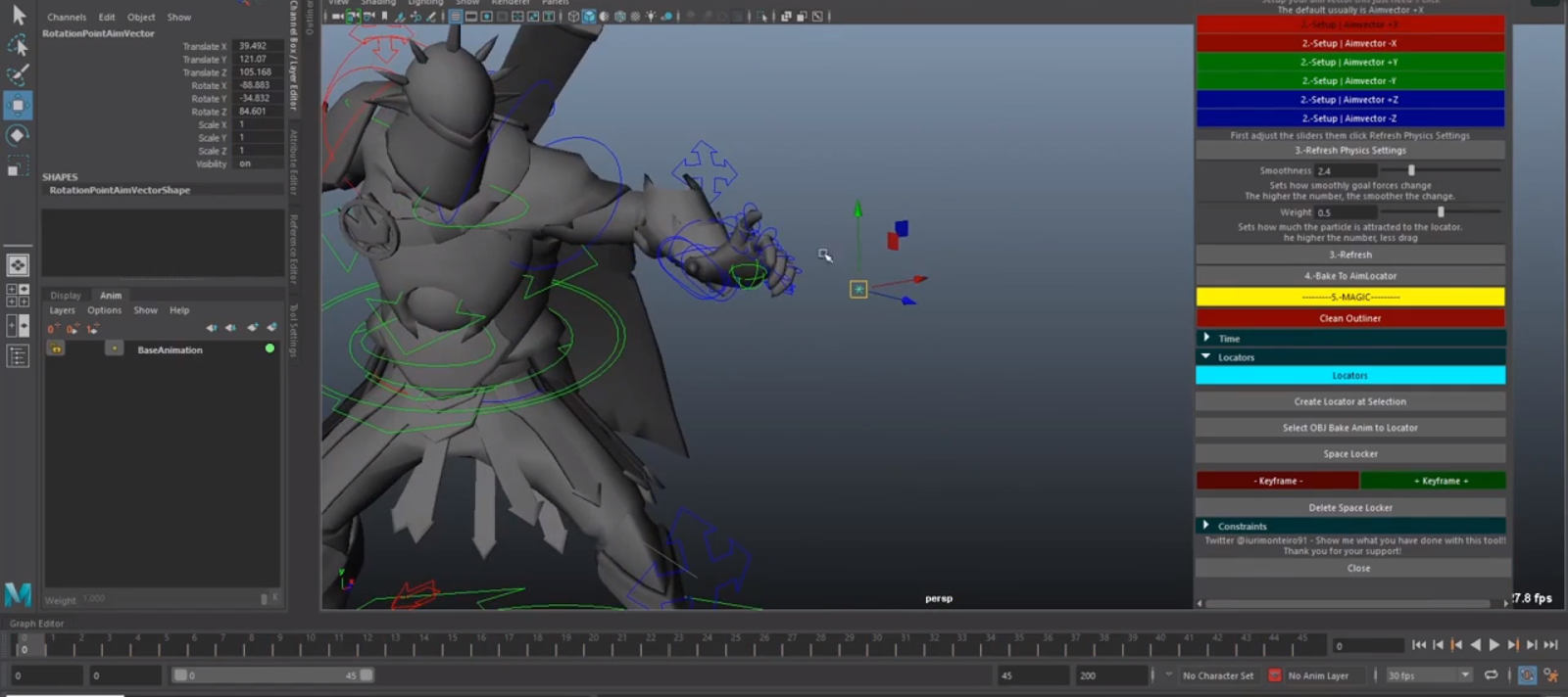 Physics Tools for Maya! - Plugins Reviews and Download free for CG