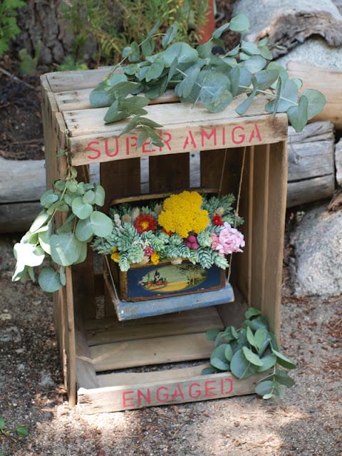 Floristeria Flores en el columpio
