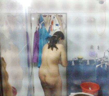 Desi House Wife Naked Bath Photo