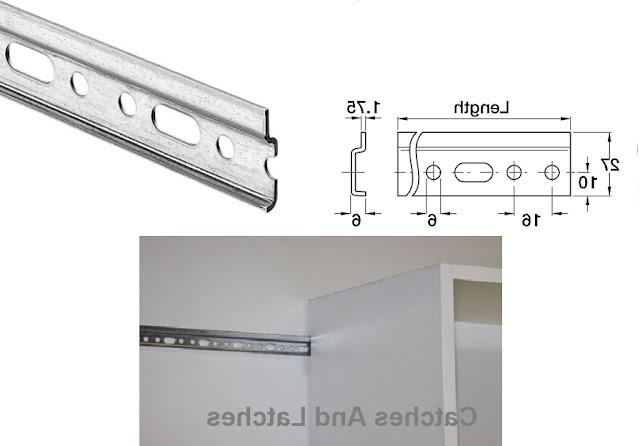 kitchen door display rails