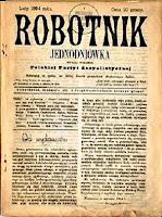 Robotnik jednodniówka - luty 1894