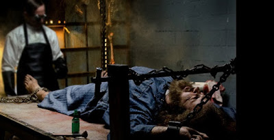 Production still from THE CHAIR