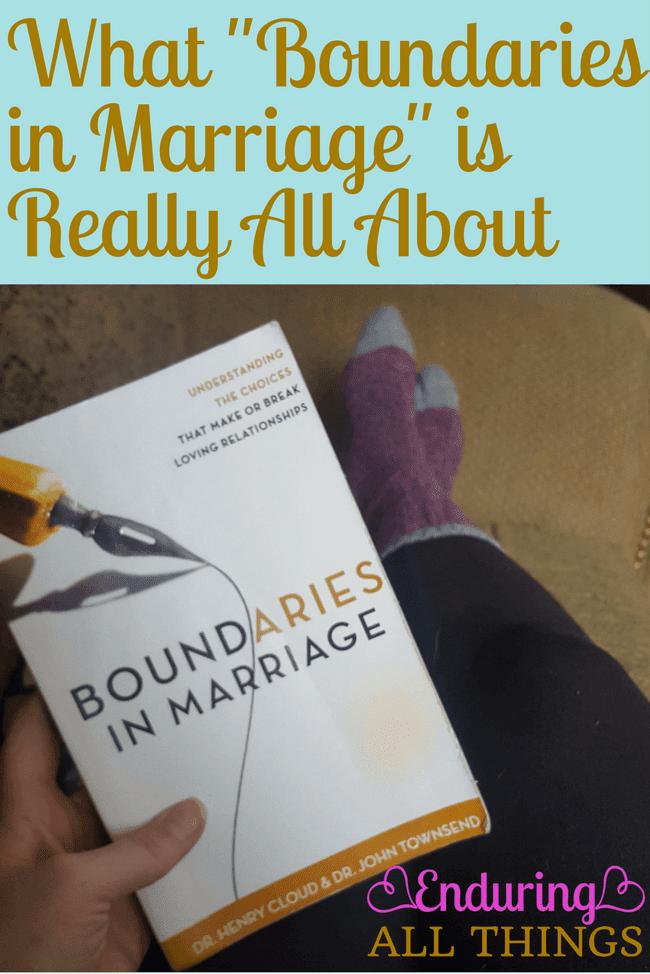 Boundaries in dating henry cloud 2