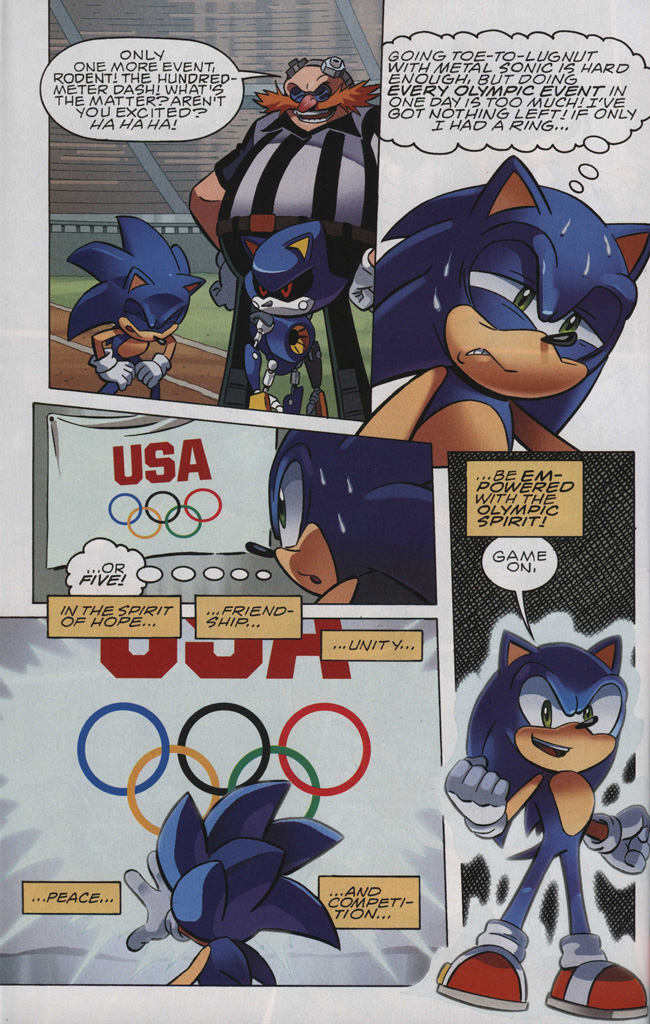 Read online Sonic The Hedgehog comic -  Issue #242 - 20