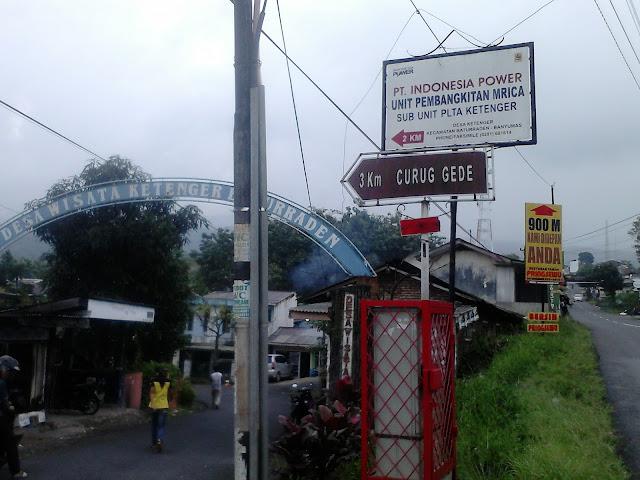 Jalur ke Curug Bayan
