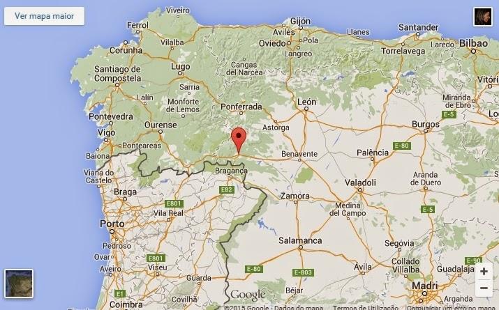 benavente espanha mapa Tierra de sidra, lobos y gigantes   O Berço do Mundo benavente espanha mapa