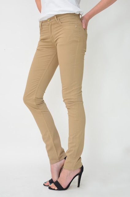 Dark Buff Sateen Skinny. Photo courtesy of  Monkee Genes