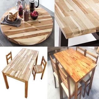Bàn ghế bằng gỗ Tràm