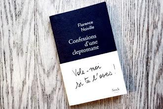 Lundi Librairie : Confessions d'une cleptomane - Florence Noiville