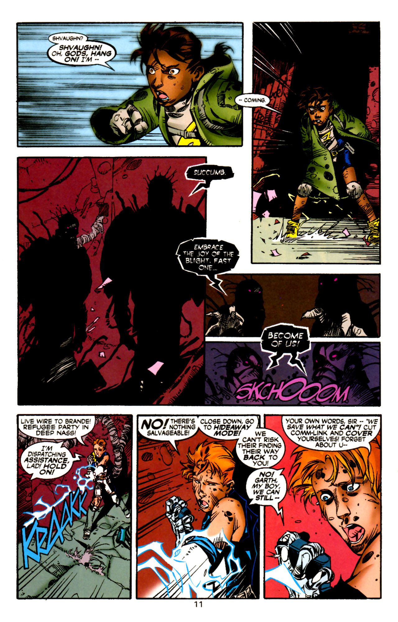 Legion of Super-Heroes (1989) 122 Page 10
