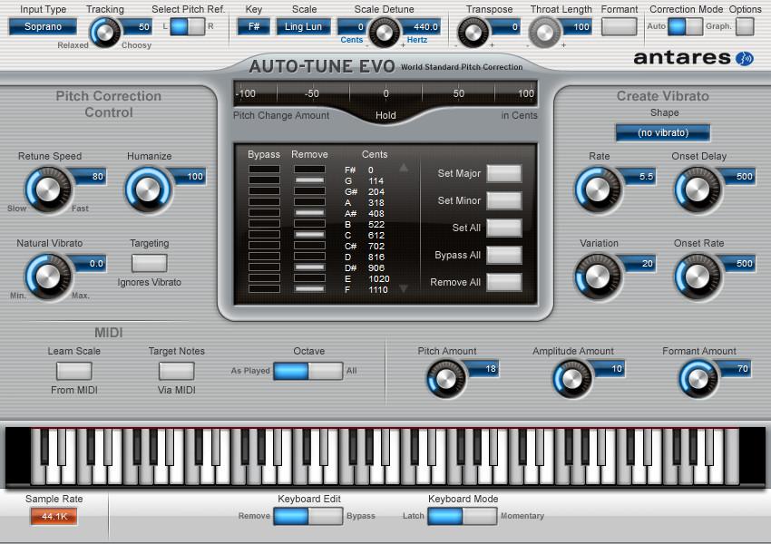 Auto-Tune Evo v6.0.9.2 Full version