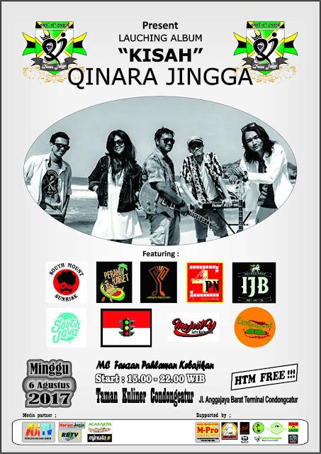 """Event : Qinara Jingga Launcing Album """"KISAH"""""""