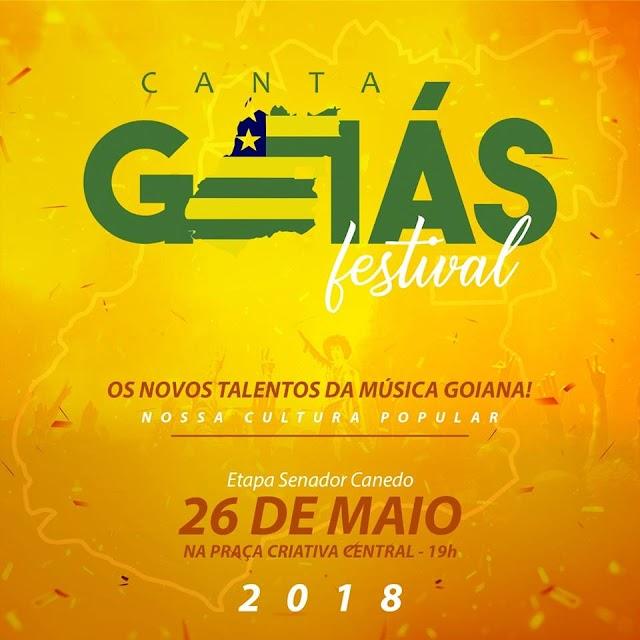 Senador Canedo: Inscrições abertas para Festival Canta Goiás