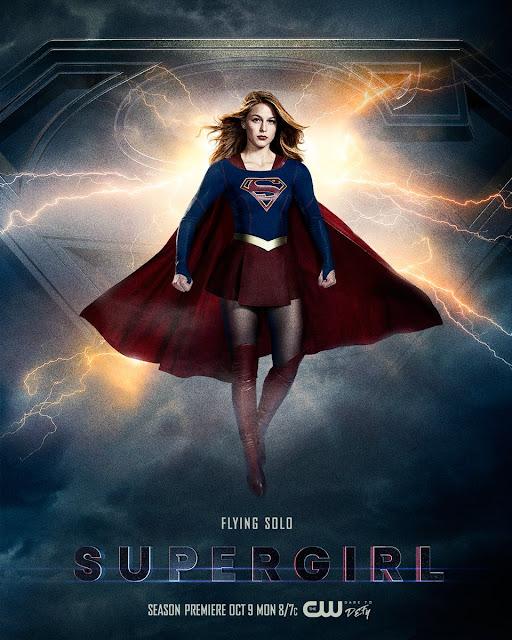 """Póster de la tercera temporada de """"Supergirl"""" - DC Comics"""