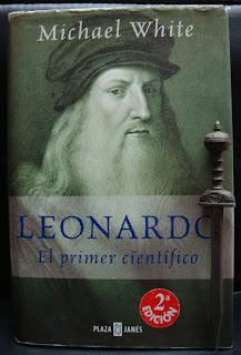 Portada del libro Leonardo. El primer científico, de Michael White